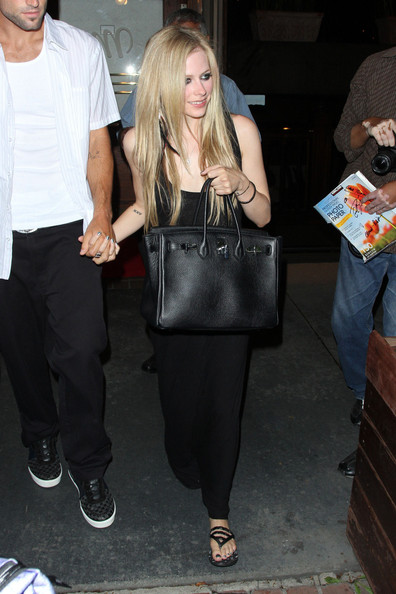 Avril Lavigne and boyfriend Brody Jenner enjoy an evening together at