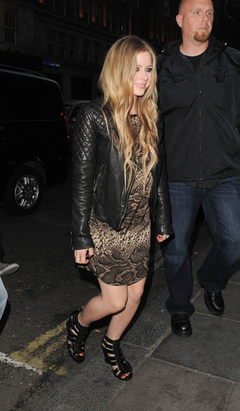 Avril Lavigne Leather Jacket