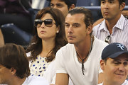 Mirka Federer's butterfly sunglasses were just the stylish finish she needed.