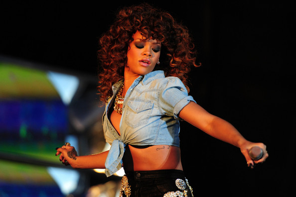 Rihanna in Rihanna Live at V Festival 2
