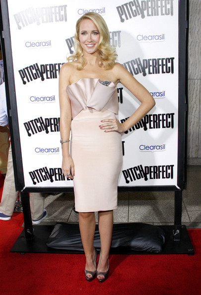 More Pics of Anna Camp Peep Toe Pumps (1 of 2) - Anna Camp Lookbook - StyleBistro