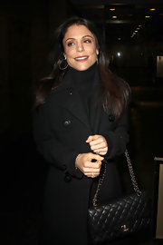 Bethenny Frankel made an appearance on the 'Today' show wearing her hair in long smooth layers.