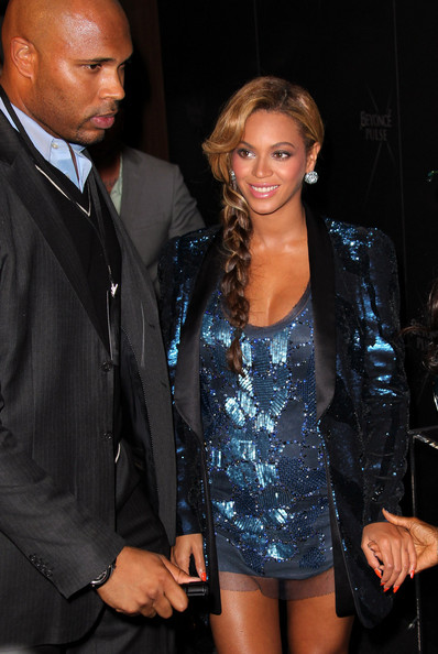 More Pics of Beyonce Knowles Long Braided Hairstyle (1 of 21) - Long Hairstyles Lookbook - StyleBistro