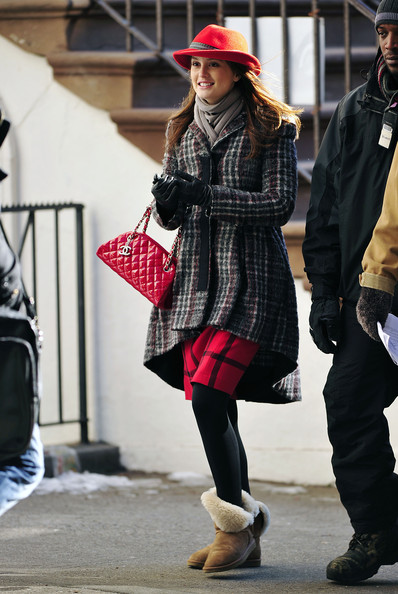 'Gossip Girl' Stars on Madison Avenue in New York City