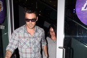 Brian Austin Green Oval Sunglasses