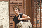 Bristol Palin leaves rehearsal after practicing for the latest season of
