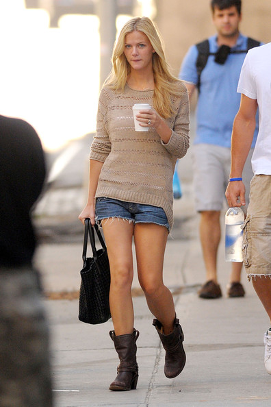 Brooklyn Decker Denim Shorts