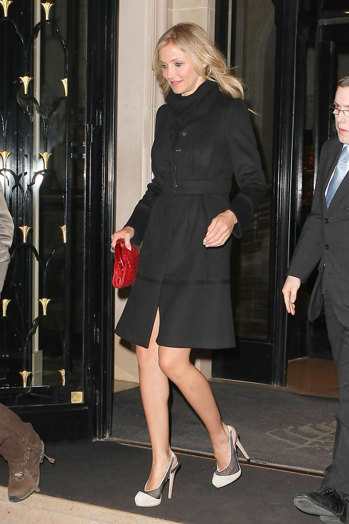 Cameron Diaz Platform Pumps Cameron Diaz Shoes Looks