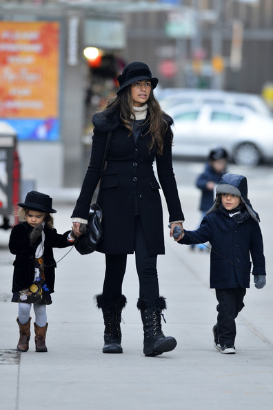More Pics of Camila Alves Wool Coat (1 of 6) - Camila Alves Lookbook - StyleBistro