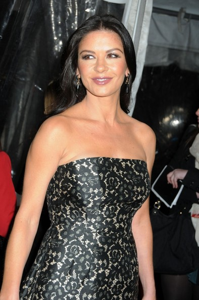More Pics of Catherine Zeta-Jones Fishtail Dress (4 of 10) - Fishtail Dress Lookbook - StyleBistro