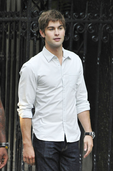 Chace Crawford Button Down Shirt - Chace Crawford Clothes Looks ...