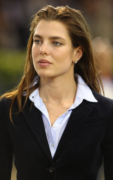 Charlotte Casiraghi Long Straight Cut