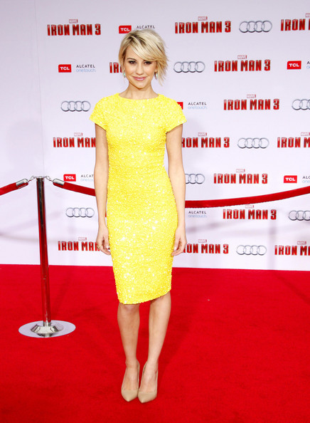 Chelsea Kane yellow dress