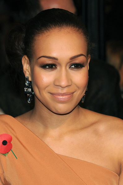 Rebecca Ferguson finished off her look in classic style with a sleek bun when she attended the 'Harry Potter and the Deathly Hallows' premiere.