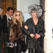 Cher and Fergie are Shopping Buddies - February 28, 2013 - Paris
