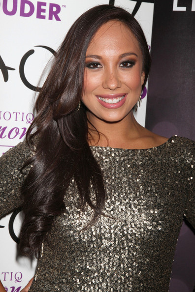Cheryl Burke Side Sweep
