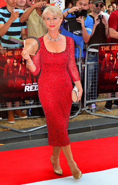 More Pics of Helen Mirren Red Lipstick (5 of 5) - Helen Mirren Lookbook - StyleBistro