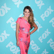 Lea Michele Wore Lela Rose at the 2013 FOX Programming Presentation Post-Party