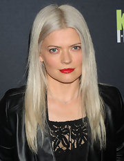 Kate Young attended the Editor at Large event in NYC wearing her hair in a sleek and polished-looking style.