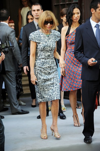 Celebs at the Christian Dior Show in Paris