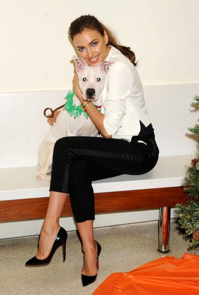 Irina Shayk for the ASPCA