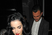 Dita Von Teese and Theo Hutchcraft Photo