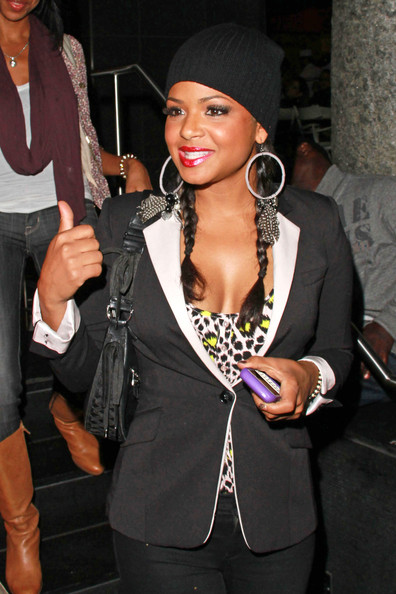 Christina Milian Costume Hoops