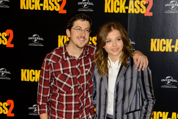 Christopher Mintz-Plasse Chloe Grace Moretz 'Kick-Ass 2' Photo Call in London