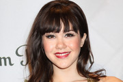 Claire Sinclair Long Wavy Cut with Bangs