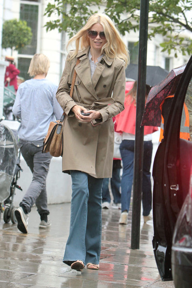 More Pics of Claudia Schiffer Trenchcoat (1 of 5) - Claudia Schiffer Lookbook - StyleBistro