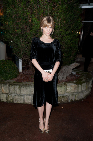 Clemence Poesy Little Black Dress
