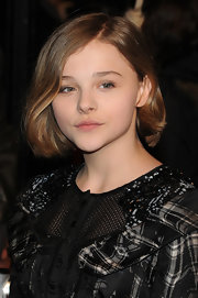 Chloe Moretz showed off a darling bob while attending the 'Harry Potter and the Deathly Hallows' premiere. She swept her honey brown locks to one side, which perfectly shaped her face.