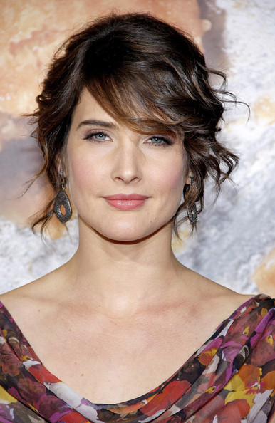 Cobie Smulders Bobby Pinned Updo