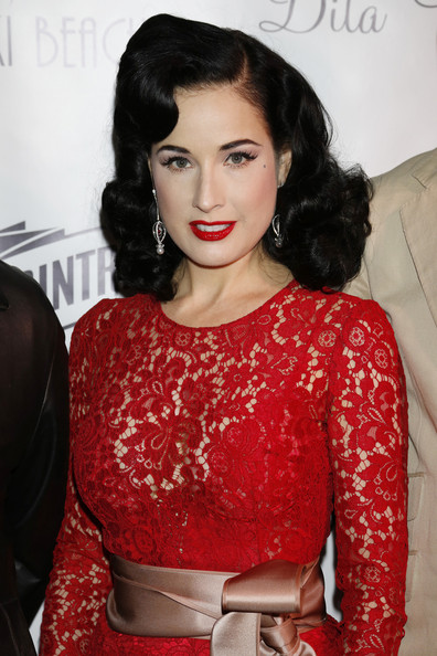 7b104a41b69c More Pics of Dita Von Teese Red Lipstick (3 of 13) - Dita Von Teese Lookbook  - StyleBistro
