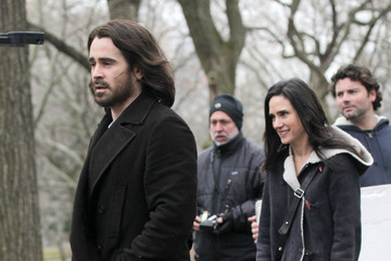 Colin Farrell Jennifer Connelly Jennifer Connelly and Colin Farrell on Set