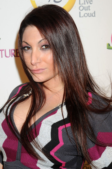 More Pics of Deena Nicole Cortese Long Straight Cut (1 of 2) - Deena Nicole Cortese Lookbook - StyleBistro