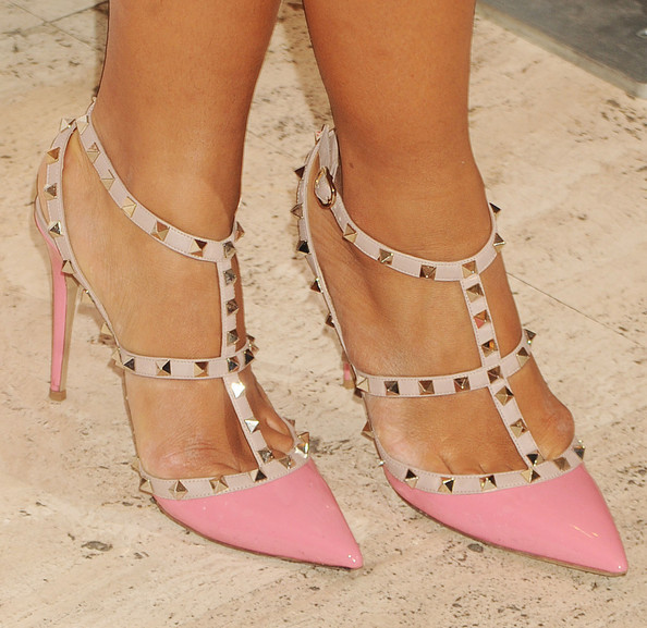 More Pics of Hannah Bronfman Studded Heels  (1 of 4) - Heels Lookbook - StyleBistro