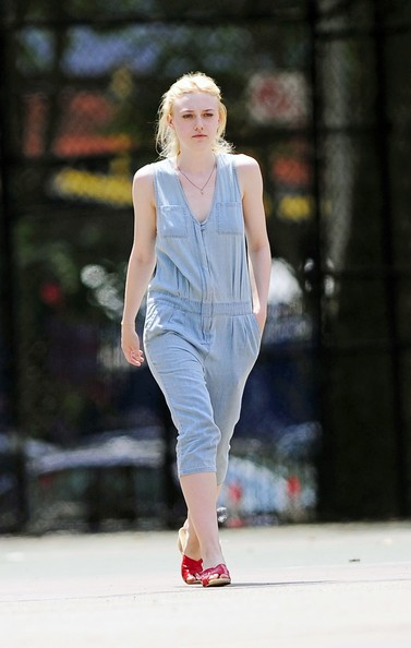 Dakota Fanning Jumpsuit