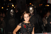 Emma Watson arrives on the red carpet at the World Premiere of