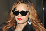 Demi Lovato Steps Out in Bold Earrings for 'Today' Show Appearance