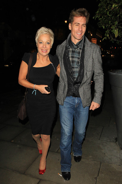 Denise Welch Little Black Dress