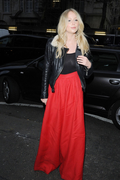 Diana Vickers Wide Leg Pants
