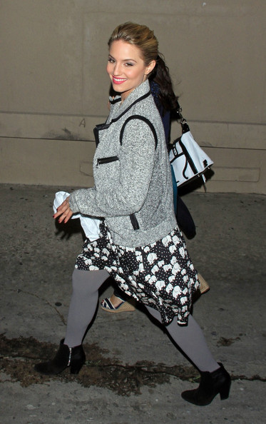Dianna Agron Ankle Boots