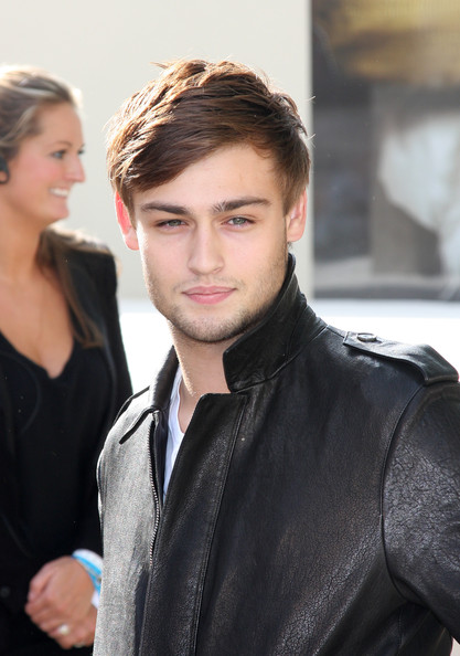 Douglas Booth Leather Jacket