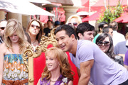 Kathy Griffin and Mario Lopez Photo
