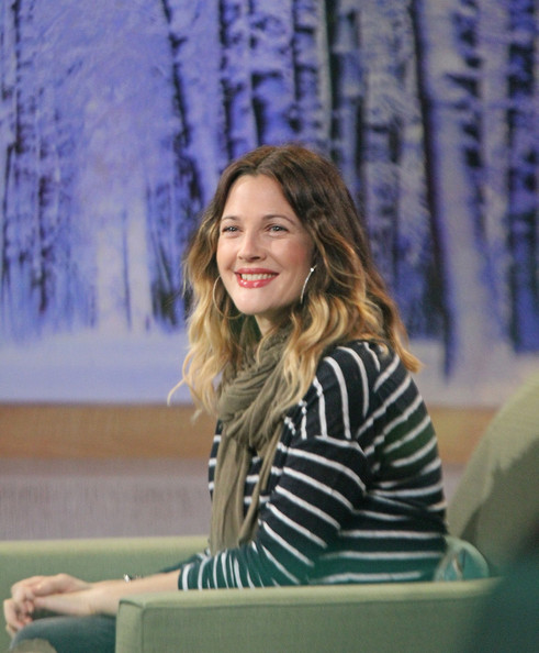 More Pics of Drew Barrymore Pea Coat (1 of 19) - Drew Barrymore Lookbook - StyleBistro