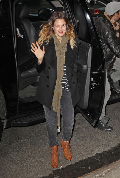 Drew Barrymore Pea Coat