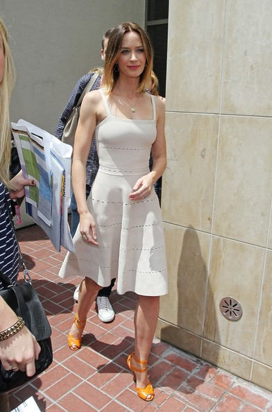 Emily Blunt Day Dress