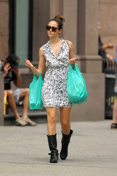 Emmy Rossum Shoes