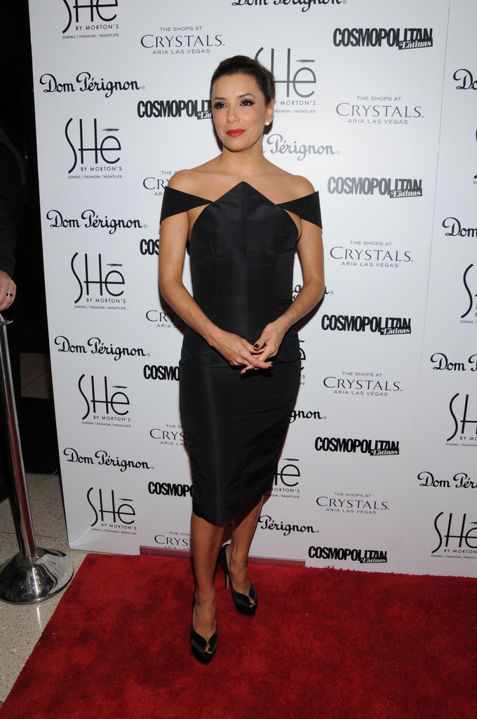 Eva Longoria attends the Grand Opening Of Las Vegas' Newest Nightclub And Dining Concept 'SHe' Hosted By Eva Longoria.